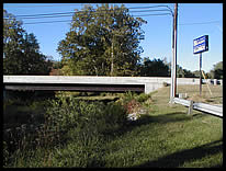 SE corner river access at SR 38